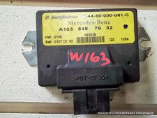 Mercedes ML 270 CDI W163  transfer box ecu A1635457932 control module