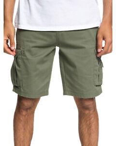 NEW QUIKSILVER™  Mens Cruicial Battle Cargo Walk Short Shorts