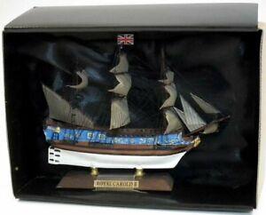 HMY Royal Caroline 1749 12.5cm Model Ship (by Ex Mag GQ58)