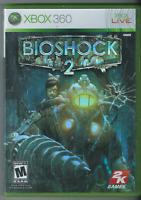 🔥🔥🔥 BioShock 2 (Microsoft Xbox 360, 2010) (w/ Manual) 🎮🎮🎮