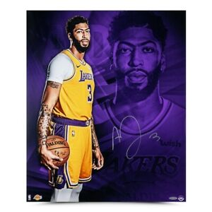 """Anthony Davis Signed Autographed 20X24 Photo """"An So It Begins"""" Lakers UDA"""