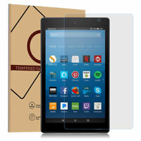 """10HD Tempered Glass Screen Protector For Amazon Fire HD 10 Tablet 10.1"""" 2017/8th"""