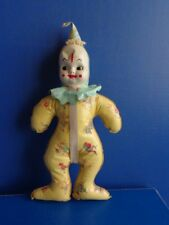 VINTAGE VINYL CLOWN BABY BOTTLE HOLDER