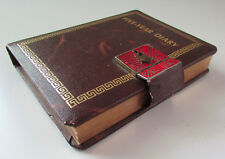 Vintage Five Year Personal Diary Journal Planner Address Book Locking Cover