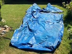 Fireball Sailing dinghy Mast up PVC boat cover Spares or Repair