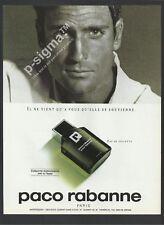 PACO RABBANE - eau de toilette 1991 Print Ad