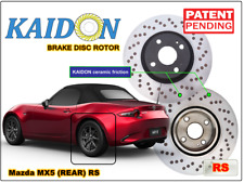 "Mazda MX5 disc rotor KAIDON (Rear) type ""BS"" / ""RS"" spec"