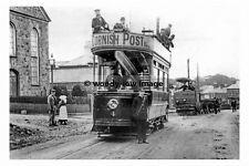 pt6588 - Redruth & Camborne Tram at Pool near Camborne Cornwall - photo 6x4