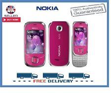 Nueva marca Nokia 7230 Rosa Slider 3G Desbloqueado Teléfono Móvil 1 Año De Garantía