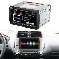 """Universal 2 DIN 7"""" HD Car DVD USB SD Player Bluetooth FM Radio Aux input N1O9"""