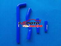BLUE Silicone Radiator HOSE FOR YAMAHA YZF250 WR250 WR250F 2002 2003 2004 2005