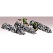"Armorcast 28mm Resin Terrain ACW015 4"" Long Rock Wall Unpainted Frostgrave"