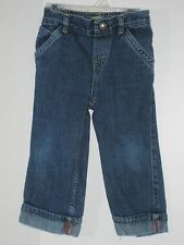 LEVI STRAUSS Signature Girl Size 24 Months Blue Denim Pull-On Jeans