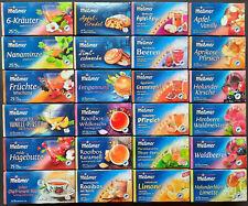 24 verschiedene Teebeutel Tee Probierset Füllung für Adventskalender ... Meßmer