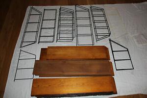 DDR String Regal 60er Bücherregal Wandregal Leitern Design Mid Century Vintage