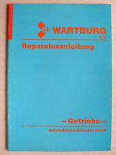 Reparaturanleitung Getriebe Wartburg 1.3 Limousine/Tourist/Trans, 12.1989, 24 S.