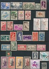 Monaco **COLLECTION OF 57 DIFFERENT MOSTLY MNH & MH** AS SHOWN
