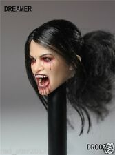 "1:6 Scale DREAMER Action Figure Accessory Vampire Headsculpt For 12"" Female Body"