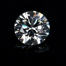 White Forever One Moissanite G H Color 0.78cts 6mm Round Shape VS2 Clarity