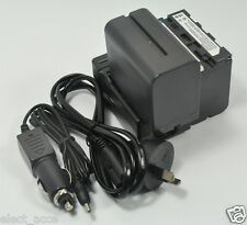 2x Battery NP-F970 +Charger for Sony DSR-PD150 DSR-PD150P DSR-PD170 GV-HD700 New