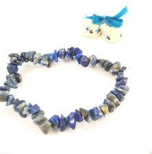 LAPIS LAZULI STRECH BRACELET - Jewelry / Craft / Fashion / Accessory