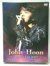 John-Hoon Japan 1st Tour 2007 DVD Bokutachi Itsukamata... Eternity