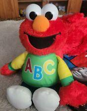 Sesame Street Talking ABC Elmo Plush Doll