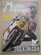 MOTO REVUE n° 2362/20 avril 78. La 1000 OCR Van Veen. 240 KTM GS 6. GP d'Espagne