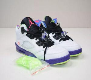 Nike Air Jordan 5 Retro Alternate Bel Air GS Size 7y Basketball Shoes DB3024-100