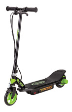 New Razor Power Core 90 Electric Scooter with Rear Wheel Drive Black/Green-Pink