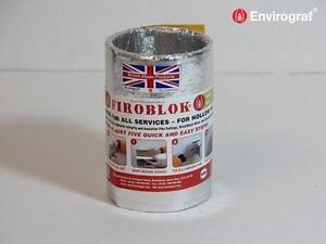Intumescent Sleeve Ventilation Ducting Firoblok Envirograf Fire Safety Product