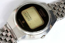 Citizen Crystron LC 60-1071 digital mens watch for PARTS!!!