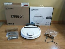 Ecovacs DeeBot 900/901/907 Smart Robotic Vacuum LIDAR Laser mapping app WHITE