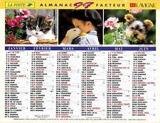CALENDRIER DES POSTES. ALMANACH DU FACTEUR. ORIGINAL DE 1997 .