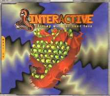 Interactive - Living Without Your Love - CDM - 1995 - Eurodance Trance 4TR