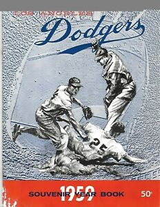 1959 Los Angeles Dodgers Yearbook World Champions BEAUTY!!