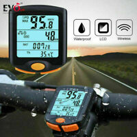 New Road Cycling Computer Waterproof ANT Speedometer bicycle Mileometer UK VIES