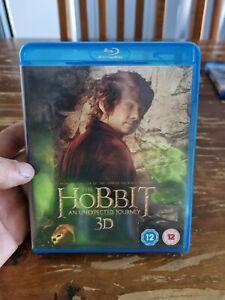 The Hobbit An Unexpected Journey 3D Bluray (4 Disc Set)