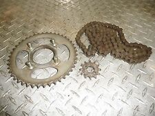 Honda MT125 Elsinore Sprockets and Chain #116
