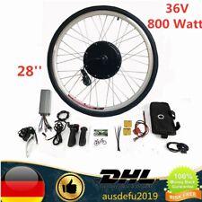 E-bike Conversion Kit 28'' Elektrofahrrad Umbausatz Hinterrad 36V 800 Watt motor