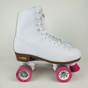 Chicago Ladies White CRS301 Classic Roller Skates Size 9