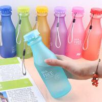 Outdoor Sportflasche Getränkeflasche 500ML Fitness Wasserflasche Trinkflasche P/