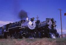 (1963) Great Western 90 & CB&Q 5632 - Original Color Slide