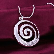 925 Sterling Silver Necklace Pendant B24