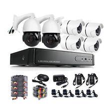 30X HD PTZ 1080P 2000TVL AHD 8CH CCTV DVR 1080P HDMI PTZ Security Camera System