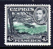 CYPRUS KG VI 1938 45 Piastre Green & Black SG 161 MINT
