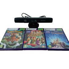 Microsoft Xbox 360 Kinect + 3 Kinect Games