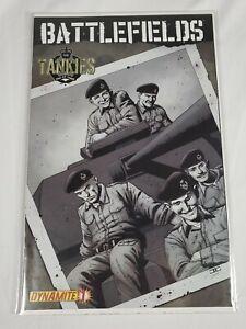 Battlefields The Tankies Issue 1 Dynamite Comic Book 2009