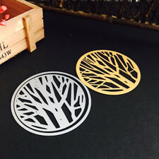 Branch Cover 85*85mm Metal Cutting Dies Embossing Stencil Scrapbooking 1PCS