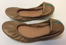 Tieks Metallic Gold Ballet Flats Shoes Women's Size 7
